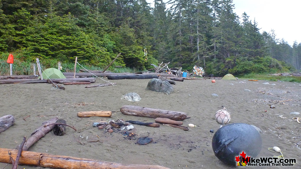Cribs Creek Campsite - West Coast Trail