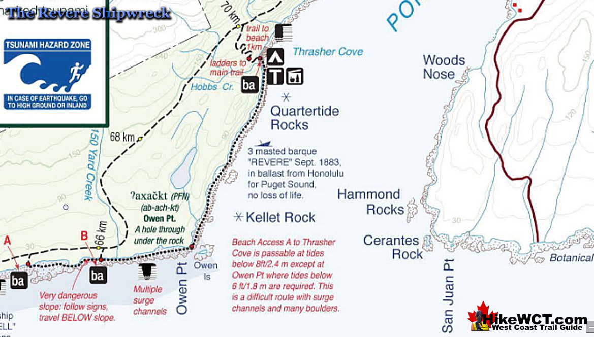 The Revere - Shipwrecks of the West Coast Trail