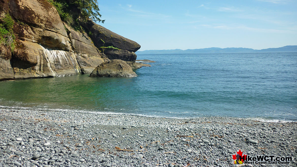 Cullite Cove Campsite on the West Coast Trail